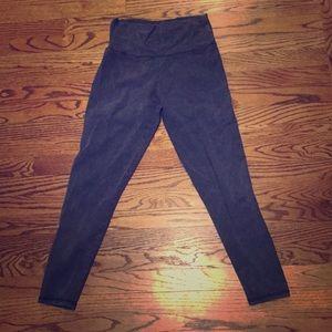 Blue, tyedye leggings from Aerie